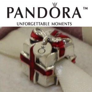 791086en27 Retired Pandora Black Friday Bead 2012